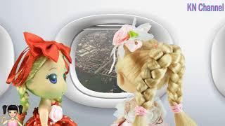 BabyBus - Tiki Mimi và Trò Chơi cảm giác của lần đầu tiên đi máy bay tập 2