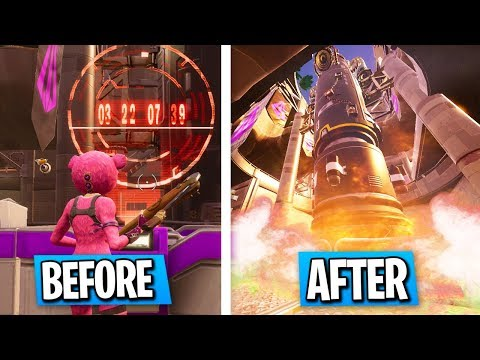 What Happens When The ROCKET MISSILE LAUNCHES In FORTNITE... (Season 5 Soon)