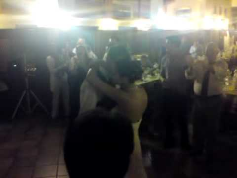 the single dance... with Laura e silvano.... One of the most wanted married of Peveragno......