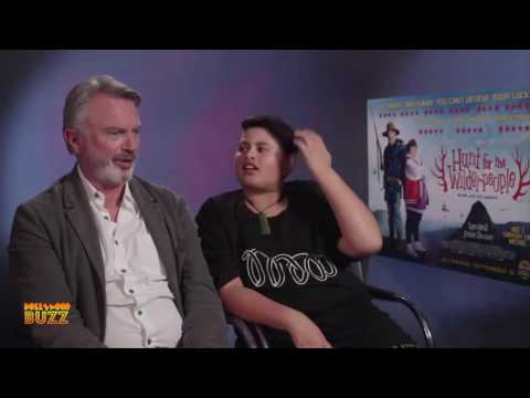 Sam Neill & Julian Dennison interview: Hunt for the Wilderpeople's stars take a haiku challenge
