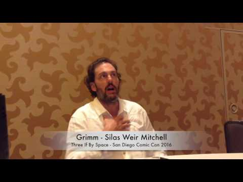SDCC 2016 - Interview with Grimm's Silas Weir Mitchell
