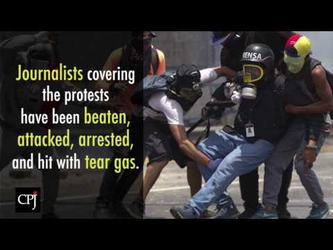 Venezuela Protests: Safety Advisory for Journalists
