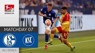 Quick Start At Schalke  | FC Schalke 04 - Karlsruher SC 1-2 | All Goals | Matchd