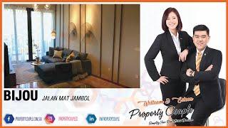 For Sale ~ BIJOU | Jalan Mat Jambol | 1 + Study / 2 Bedroom Dual Key | Next to MRT