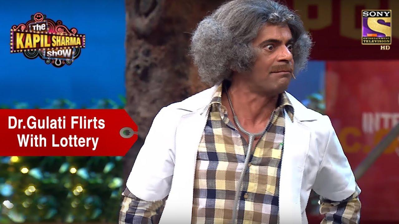 Dr. Gulati Flirts With Lottery - The Kapil Sharma Show