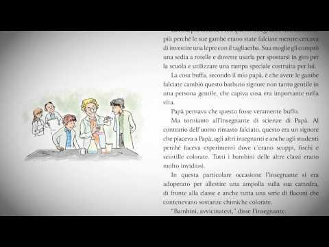 LE ORRIBILI STORIE CHE MI RACCONTAVA IL MIO PAPA' (Michelle Saccardo - Italian)