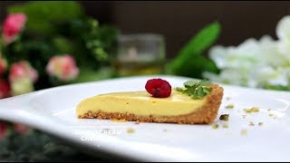 Mango Cream Cheese Pie - Chef's Table