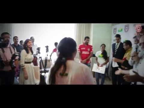 Lassi making competition with Chef Vikas Khanna   KXIP   IPL   KingsXIPunjab   CLT20