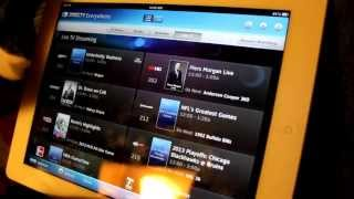 DirecTV iPad App Demo