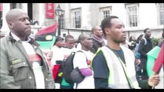 Wapnor Com BIAFRANS IN EXILE UK PAYING TWO MINUTES SILENCE RESPECT