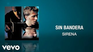 sin bandera   sirena  cover audio