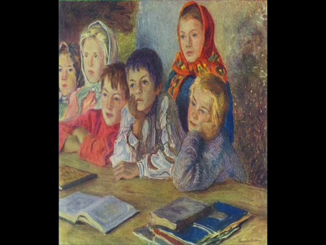 Изображение предпросмотра прочтения – МарияЗавтур читает произведение «Бабушкины сказки» С.А.Есенина