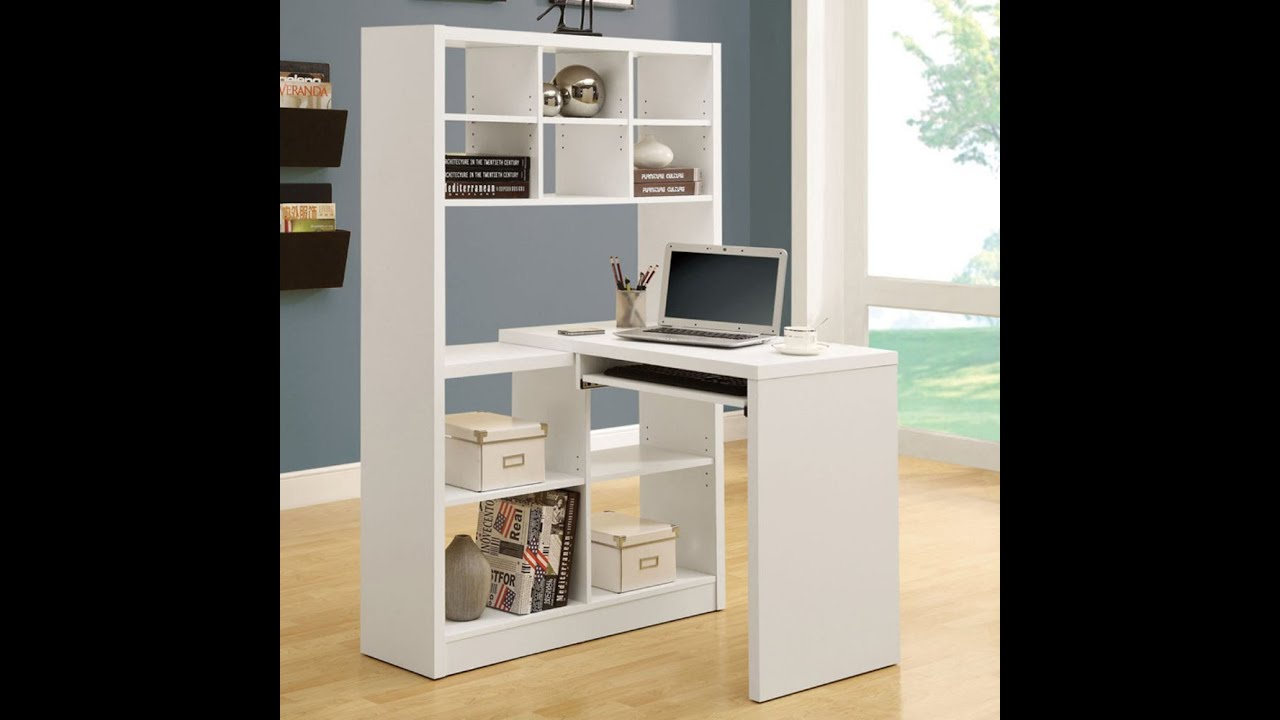 mia desk with bookcase youtube