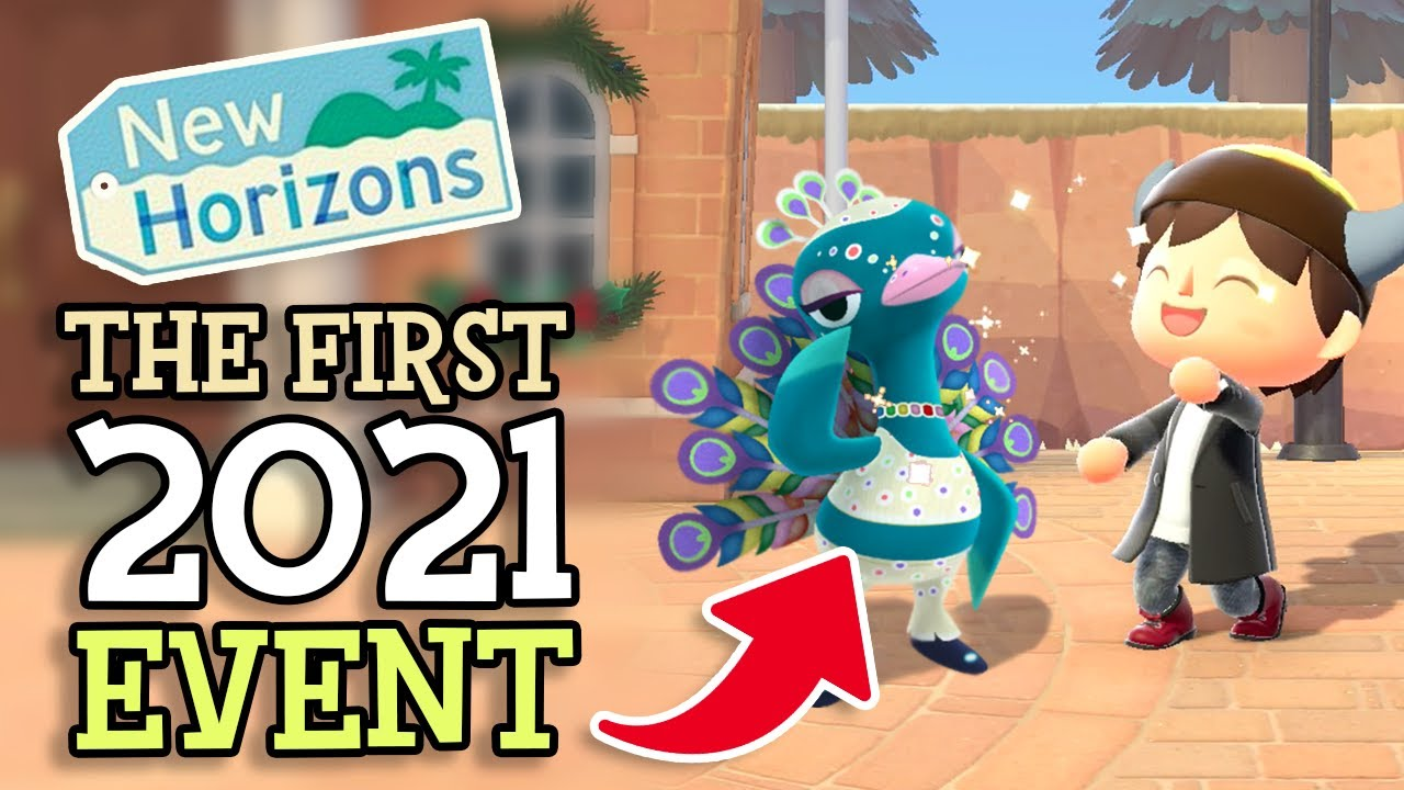 Animal Crossing New Horizons: THE FIRST 2021 EVENT (Pavé Revealed in Winter Update) with Speculation