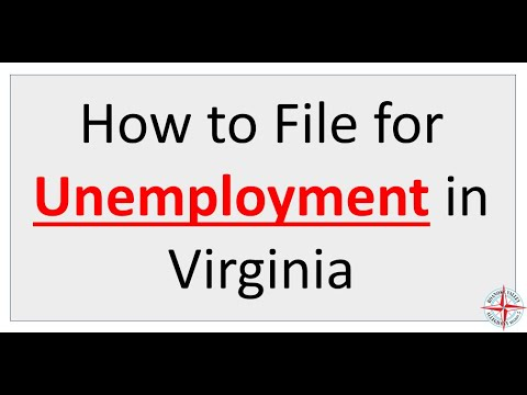 How to File for Unemployment in Virginia