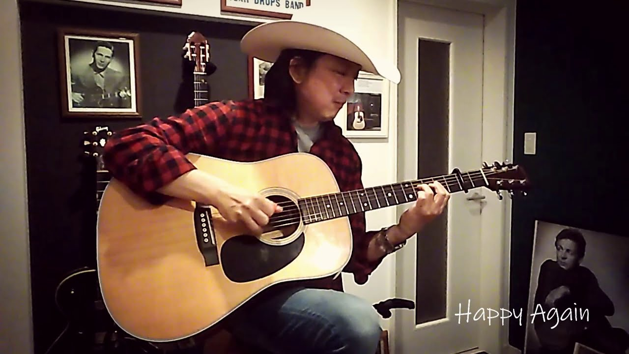 "Charlie Hosoda - ""Happy Again"" (Chet Atkins Cover)"