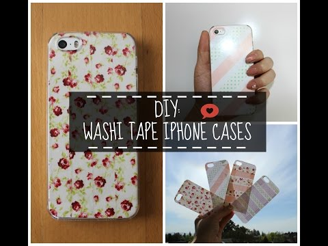 DIY - Washi Tape iPhone Case | heythereSUSAN