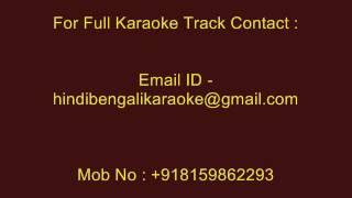 Saat Samandar Paar - Karaoke - Vishwatma (1991) - Sadhana Sargam ; Udit Narayan