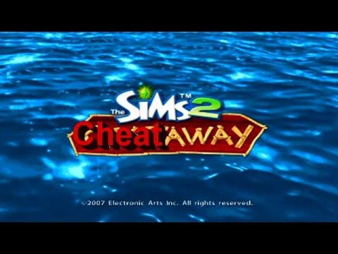 the-sims-2-castaway-all-cheats-gameplay-ps2