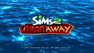 The Sims 2 Castaway  All Cheats Gameplay PS2