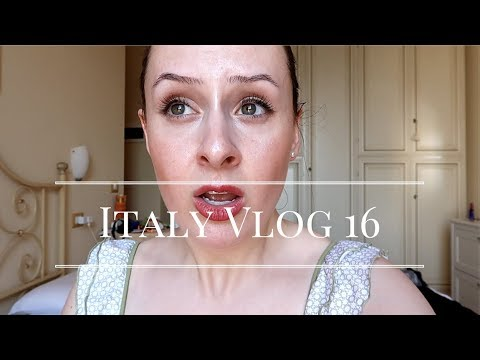 An Acting Masterclass and Lots of Performances! | Italy Vlog 16