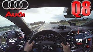0-220km/h   Audi Q8 50 TDI   POV- Acceleration TEST ✔