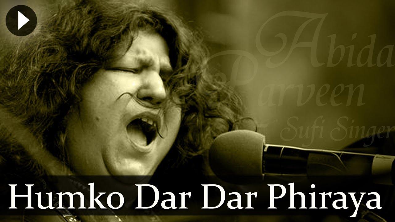 Download Humko Dar Dar Phiraya - Abida Parveen - Top Sufi Songs