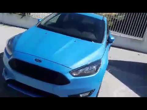 Ford Focus St Line Iceberg Blue Youtube