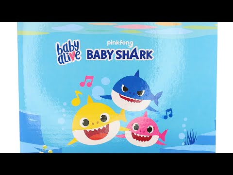 Baby Alive Baby Shark Dolls Unboxing Toy Review