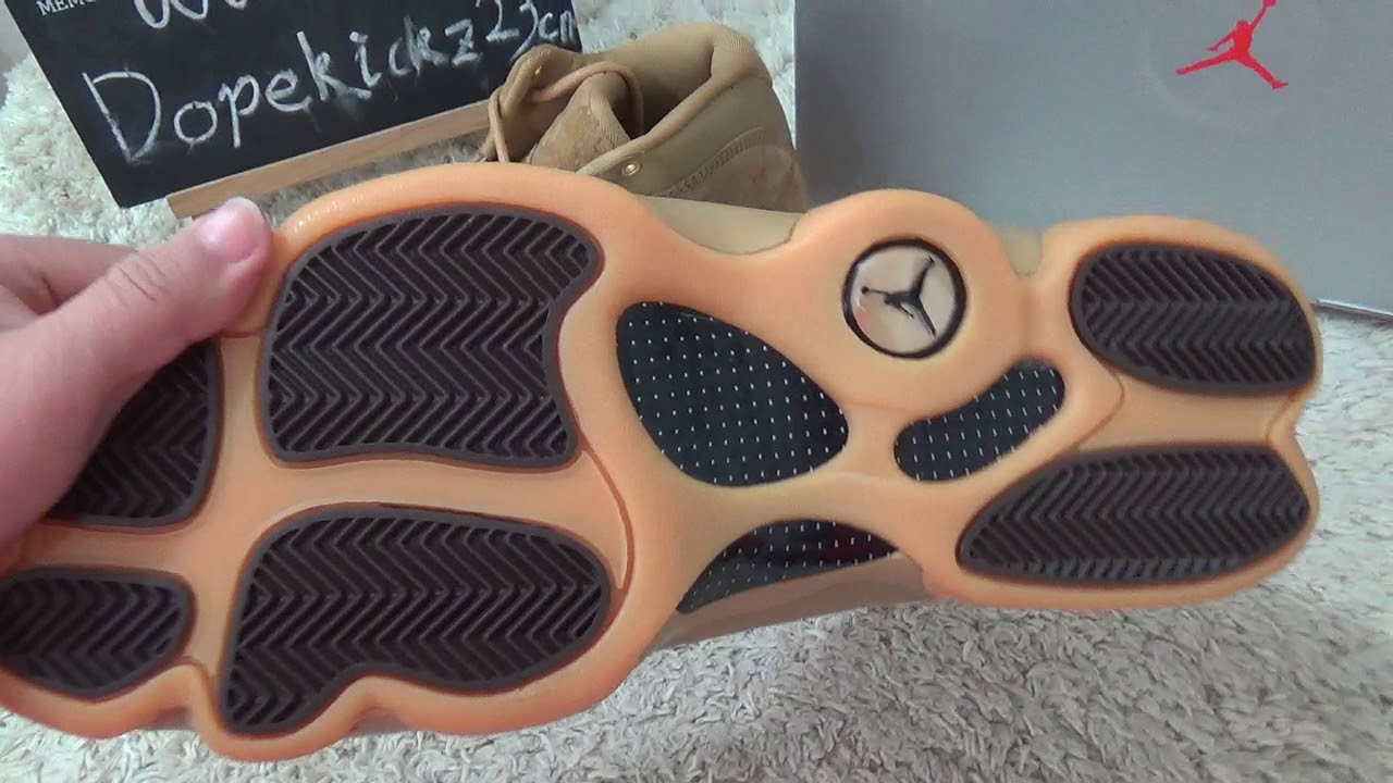 c768ccdfc0f419 Authentic Air Jordan 13s Wheat Review from Dopekickz23 - YouTube