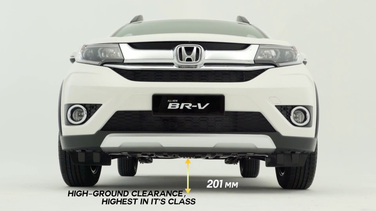 honda malaysia all new br v high ground clearance youtube. Black Bedroom Furniture Sets. Home Design Ideas