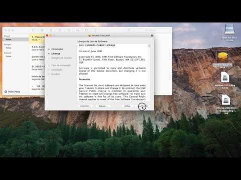 How to Write to NTFS Drives in OS X El Capitan for free / Permitir a gravação em drives NTFS