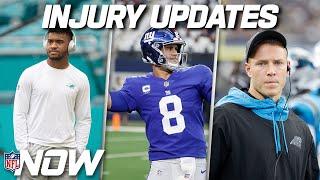 Latest NFL Injury Updates Tua Tagovailoa, Daniel Jones, Christian McCaffrey, and More