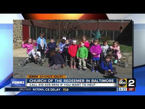 The Church of the Redeemer Parish Day School says good morning, Maryland!