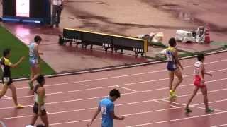 日本陸上2015男子400mH決勝 松下祐樹 49.76