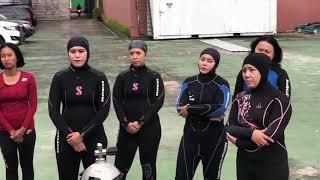 NAUI Practice Dive Bhayangkari Polda Kaltim