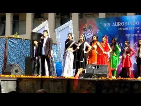 Sri aurobindo college fest 2017