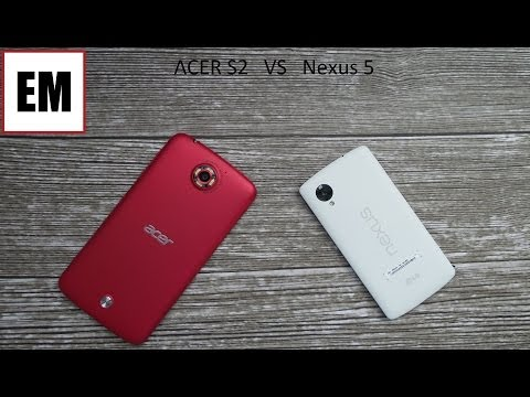 Acer Liquid s2 vs LG Nexus 5 ita da EsperienzaMobile