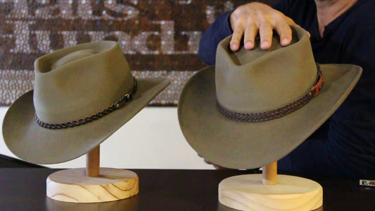 Akubra Snowy River Vs Stockman - Hats By The 100 - YouTube aae0a8deac7