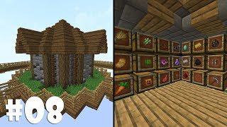 DEPOLAMA EVİ !  #8 Minecraft SkyBlock