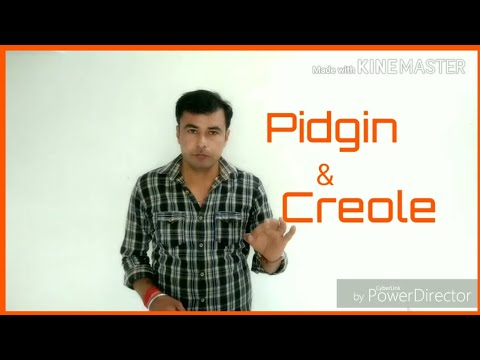 Pidgin & Creole for RPSC Lecturer