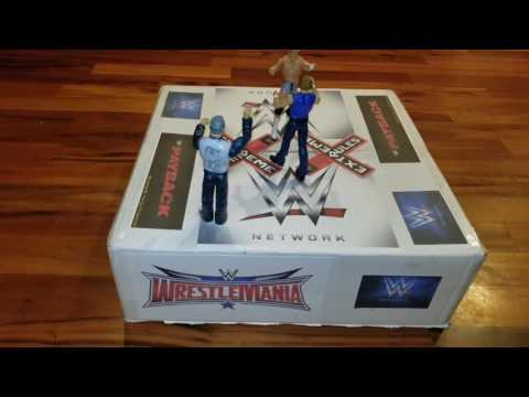 DIY... WWE Wrestling Ring project for Man Cub!