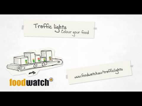 Traffic Lights. Color your food. (Barry wants to lose weight)