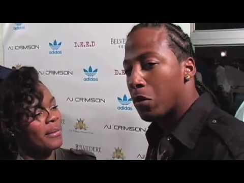 Teyana Taylor interview at celebrity make up artist  A.J.Crimson