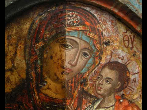 Triptych Icons Conservation Treatments & History