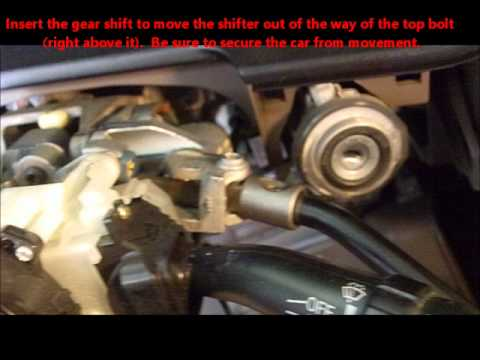 2001 toyota sequoia gear shift replacement youtube rh youtube com Toyota Camry Radio Wiring Diagram Toyota Stereo Wiring Diagram A56409