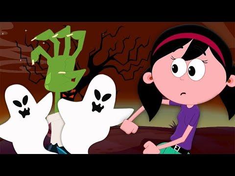 Хэллоуин Ночь | Хэллоуин песни для детей | It's Halloween Night | Hello Halloween Russia
