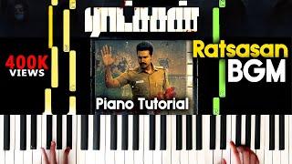 Ratsasan Bgm Piano Cover | Christopher BGM Ratsasan | Ratchasan Piano bgm Sheet Music Tutorial  |