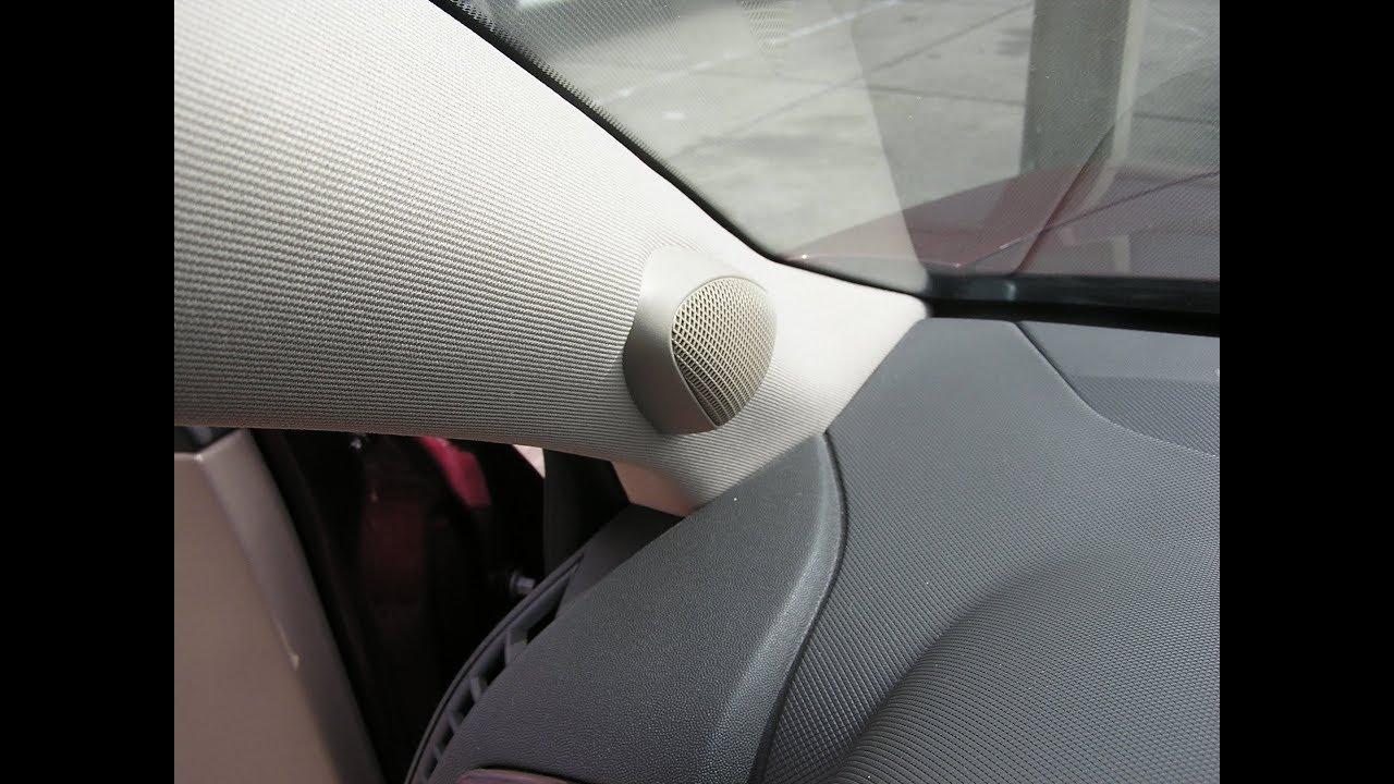 small resolution of cadillac cts speaker removal tweeter and center dash