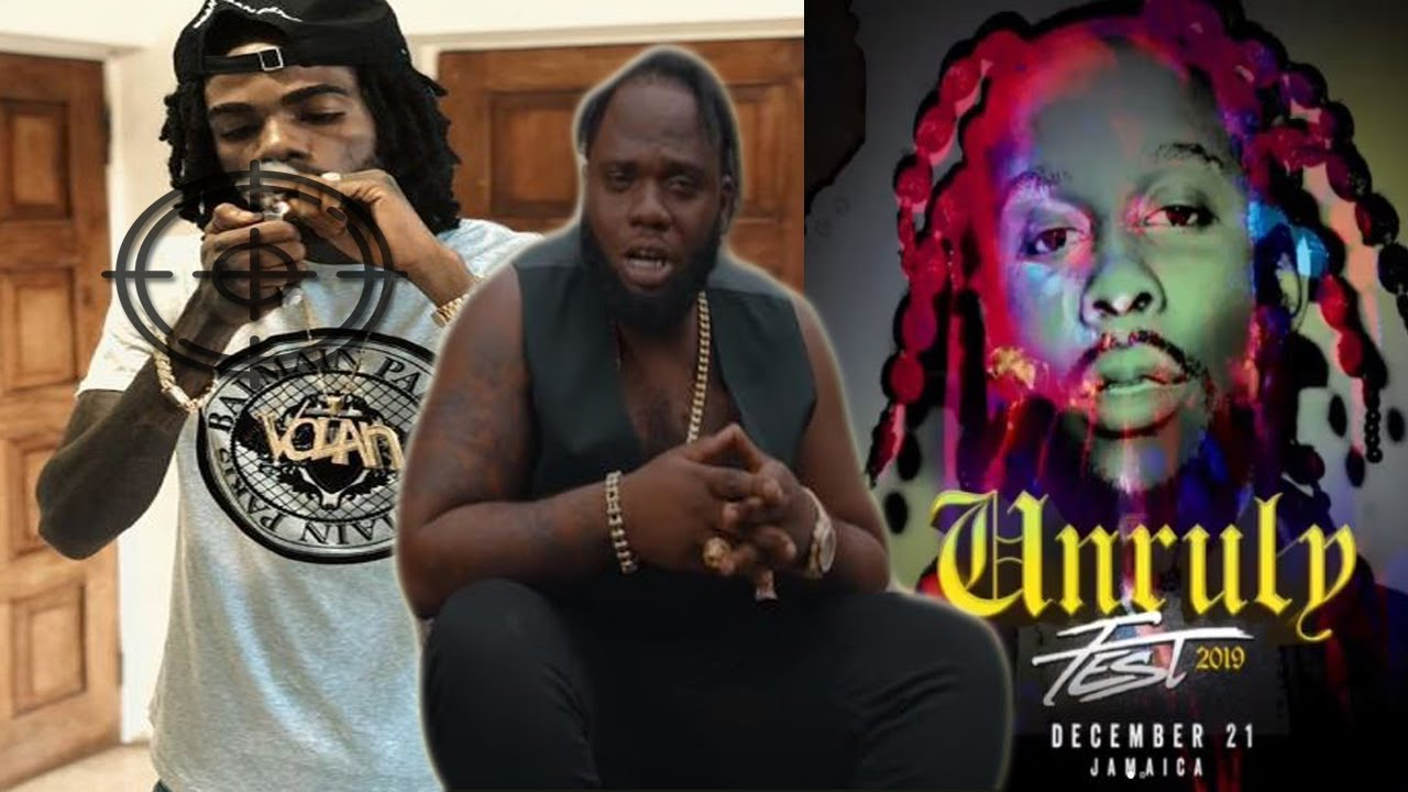 Chronic Law Target Alkaline Again   Masicka And Dexta Daps New Song    Popcaan Unruly Fest Dec21